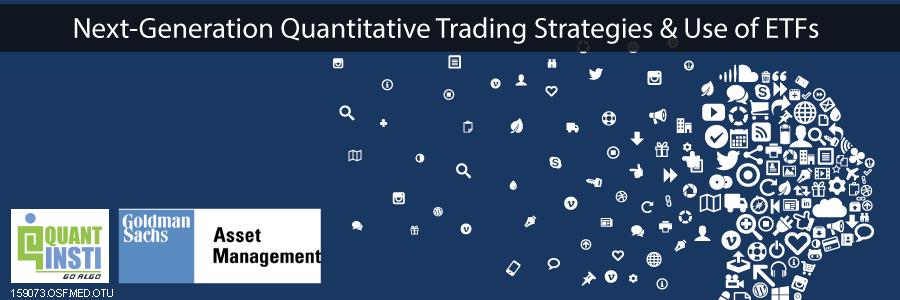 QuantInsti - Goldman Sachs Asset Management Seminar
