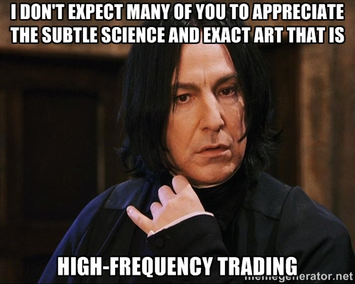 Effects of High-Frequency Trading on Market Quality