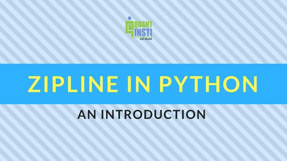 Zipline in Python