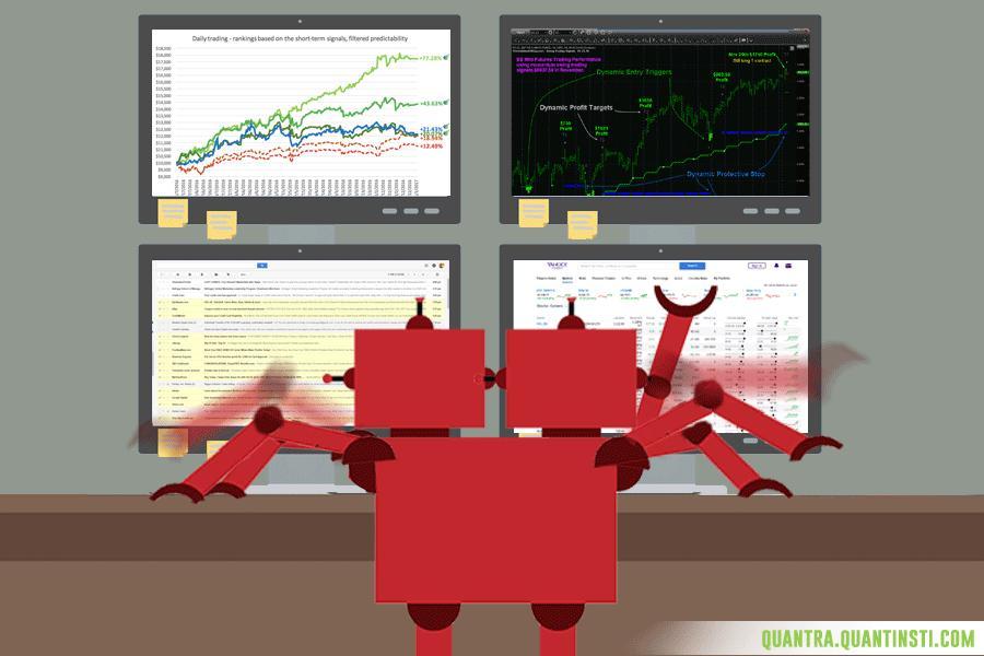 Scalability in algo trading