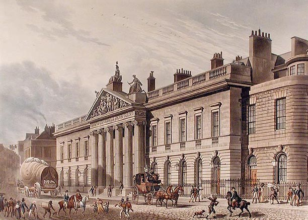 East India House in Leadenhall Street, London