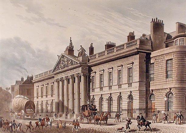 East India House in Leadenhall Street, London