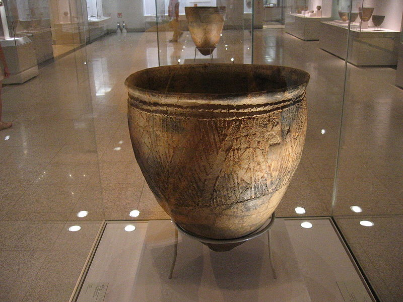Korean neolithic pot, found in Busan