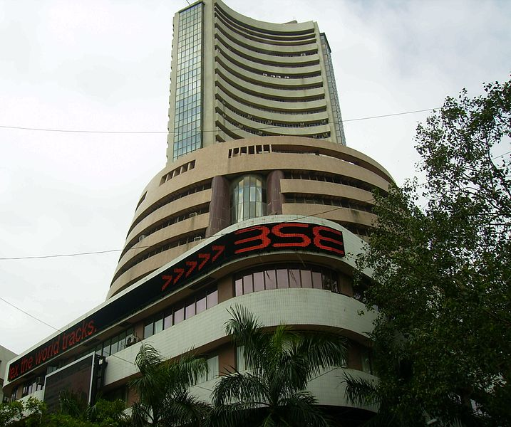 Bombay Stock Exchange building in Mumbai, India