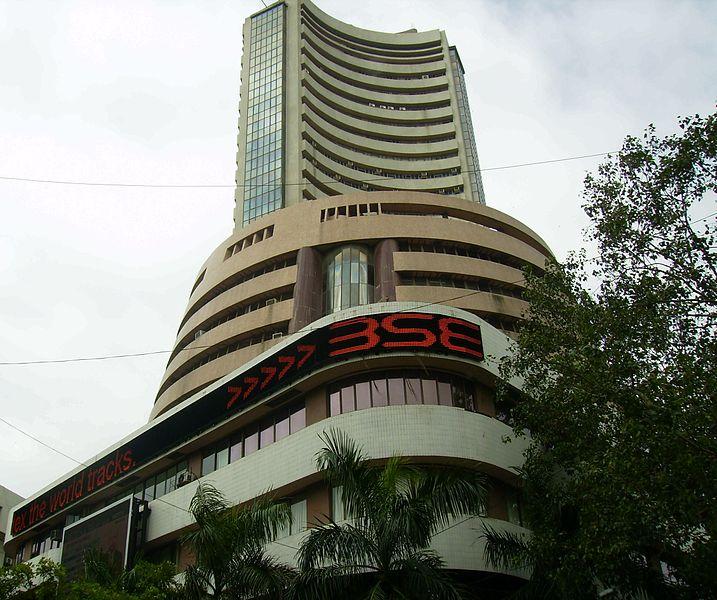 Bombay Stock Exchange building in Mumbai, India