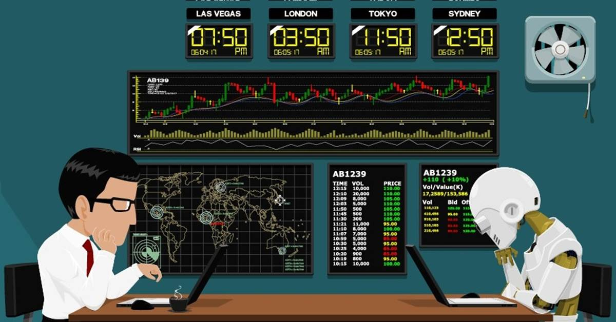 algorithmic trading at home