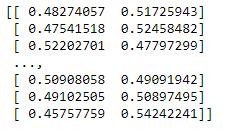 Class Probability