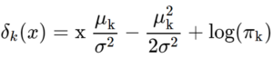 LDA equation
