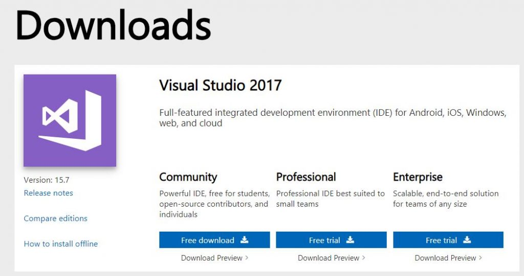 Visual studio1