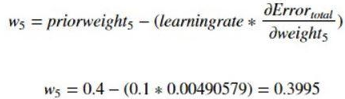 w5 gradient descent equation
