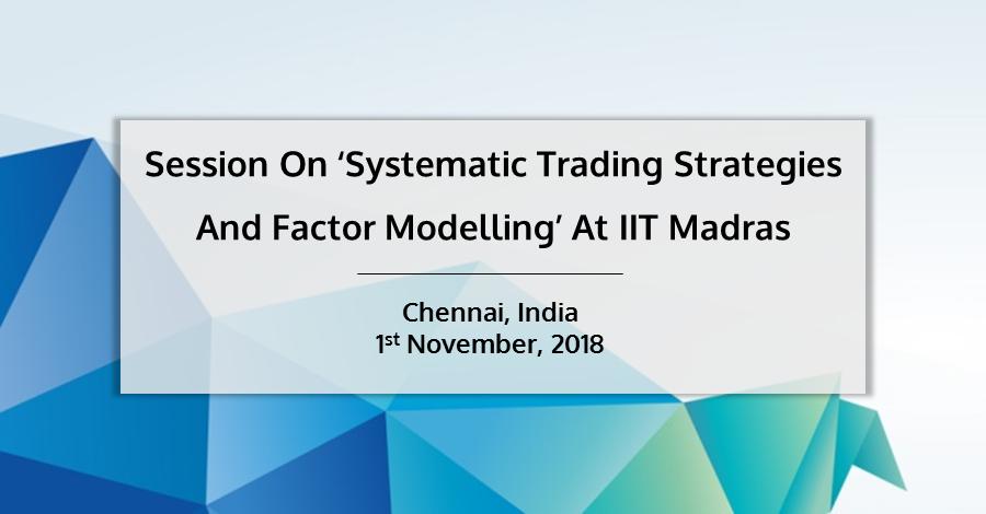 Session IIT Madras QuantInsti