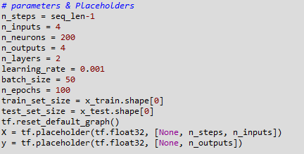 Parameters Placeholders Variables