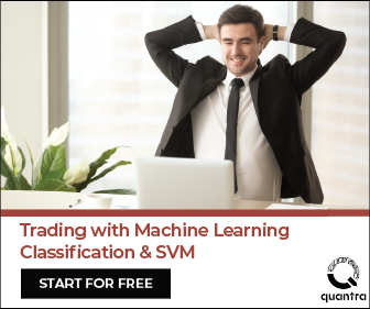Trading with Machine Learning using Classification and SVM Course