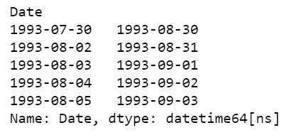 Output details
