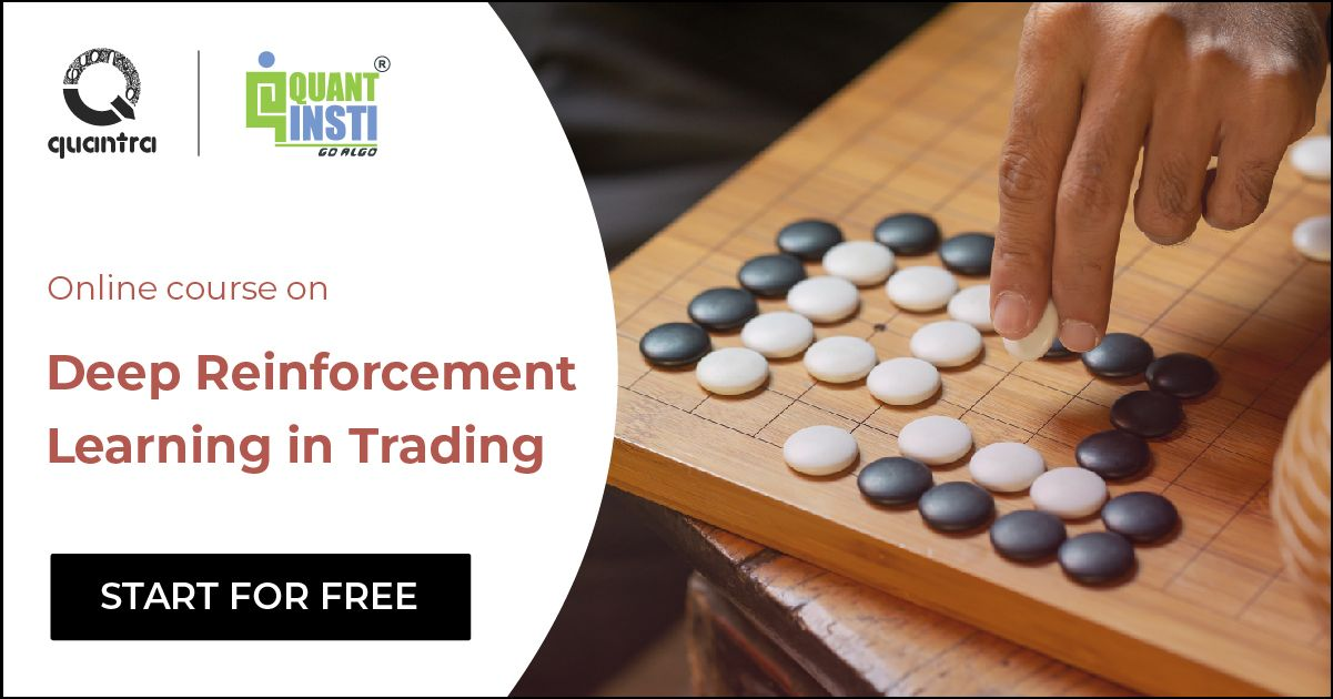 Deep Reinforcement Learning in Trading Course