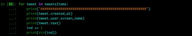 cursor user timeline return