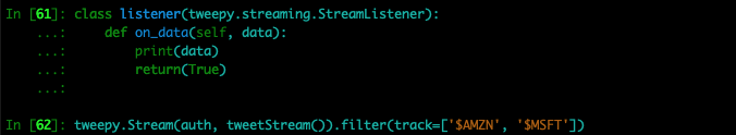 streamlistener class
