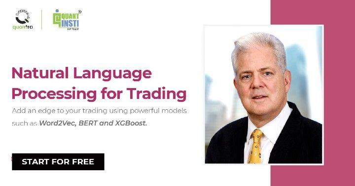 Natural Language Processing in Trading Course