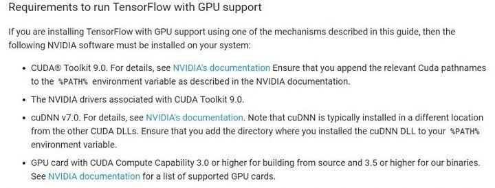 tensorflow gpu installation step 3 install cuda