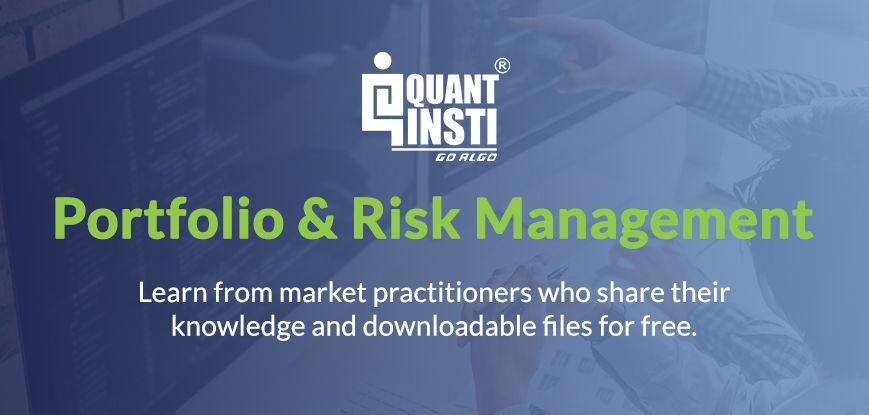 Portfolio & Risk Management - QuantInsti